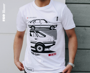 The Polonez Hatchback - koszulka FSO® - t-shirt