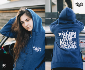Bad Polish Girls Love Polish Cars - bluza rozpinana - damska -126pe®