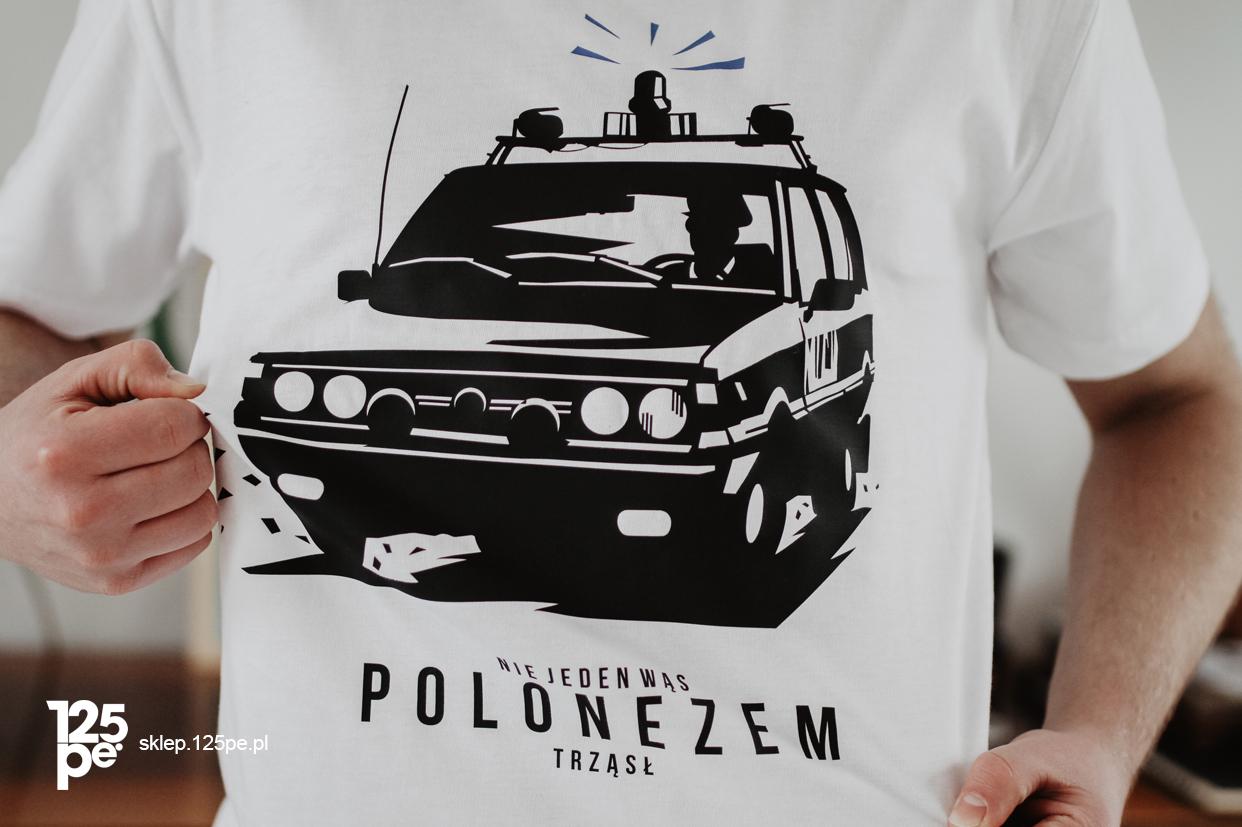Polonez Milicja Koszulka męska Nie jeden Wąs.